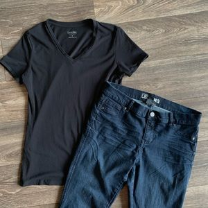 Ladies NEW YORK & CO NY&C Low-rise Legging Jeans 8